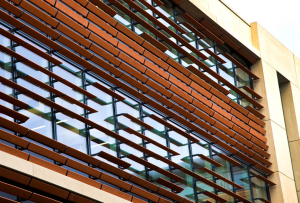 Exterior of the new OMPI building